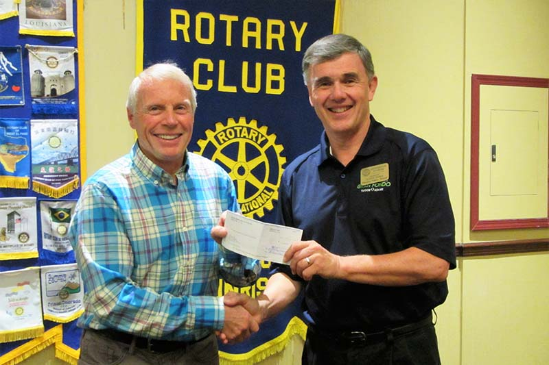 North Star Rails To Trails Society Cheque Presentation